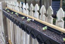 small planting gutters