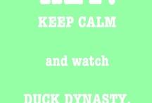 Duck dynasty!!:)) / by Courtney Alexander