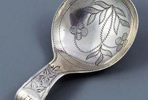 Tea Caddy Spoons / by Tea in England