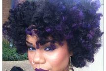 Purple Hair! ¡