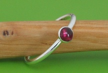 Chakra Stacking Rings / Beautiful handmade rings from Birka Scandinavia! / by Wendy Gibson