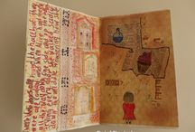 Alice in my art journal's wonderland