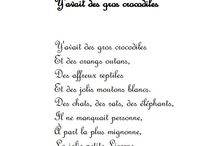 Comptines chansons