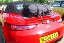 Alfa Romeo Brera Spider Gepäckträger / Die Alternative zu einem Gepäckträger für lhren Alfa Romeo Brera Spider.Hinzufügen von Wasserdicht 50 Liter Gepäckraum