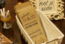 { All The Little Details } / All the little details: table thank you, place cards, escort cards, favors and more!