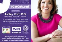 #GetCultured Twitter Party / by New Chapter