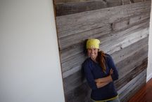 Rustic / Reclaimed Wood Accent Wall