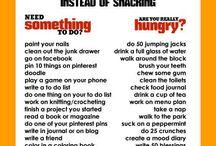 Stop boredom eating