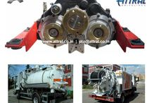 Split Shaft Units / Split Shaft PTO units are Driveline PTO units where Full Engine Torque is required through PTO operation. These PTOs are required for the applications such as Fire tenders, Road cleaning equipment , High pressure Jet-Vac machines, Concrete bulker and Cement pump, Drilling rigs, etc...