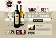 Wine webdesign