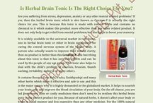 Is Herbal Brain Tonic Is The Right Choice For You? / A person who actually wants to improve their mental clarity, then no product is better than this Censton-F. The best thing about this tonic is that it has zero side effects and can be used by the people of any age group. This tonic also helps to deal with the child's problem of enuresis, bruxism, thumb sucking, irritability, dullness or many others.