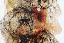 Aping & Monkeying Around / Wonderful artworks of primates