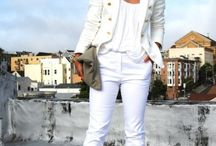 White outfits / White clothing that I simply love. / by Alicia Renee