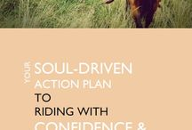 Fear Busters / Goals, affirmations and fear-busting exercises designed to inject confidence into your relationship with your horse right now.