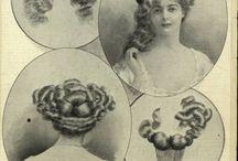 fryzury 1900-1919