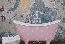 Stencilled Baths from Hurlingham