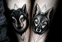 wolf tatt <3