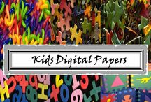 Toys Digital Papers - Kids Digital Papers - Commercial Use / Kids Digital Papers - Toys Digital Papers. WELCOME to this STUNNING collection of Kids Digital Paper images.