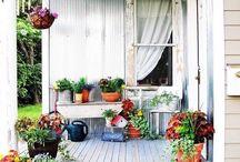 Muhteşem balkon&bahçe