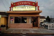 Trattoria Conte Restaurant, Wildwood Crest, NJ 08260 / Trattoria Conte Restaurant Location 6111 New Jersey Avenue Wildwood Crest, NJ 08260