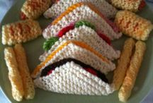 knitted food Cooper & Mia
