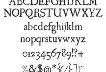 fonts / by Kelly Huddleston