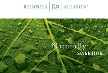"""Rhonda Allison / Rhonda Allison blends the best of active natural ingredients with highly beneficial, scientifically developed compounds to create a synergy of superior professional treatments and customized home care products that will transform the condition of your skin.  """"No Animal Testing only Human Testing."""" The Rhonda Allison Company and its affiliates are environmentally aware of the planet and endeavor to GO GREEN whenever possible."""