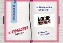 #EXPOHOBBYAgenda / La agenda de todos los eventos culturales del país! Mantente informado!