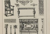 Elizabethan and jacobean woodwork - english renaissance