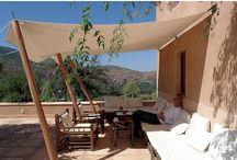 Garden (Awning, Tent, Sun shade sail, Outdoor Living, curtain)