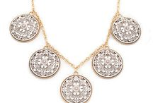 Necklaces / A good necklace really accents the neckline. Here are some of my faves