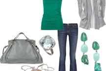 Everything Green & Grey!