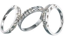 Anniversary Rings / Beautiful handcrafted anniversary and eternity rings