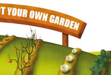 Ecological garden / Would you like to set up a garden that produces many times more than a traditional vegetable garden?  Imagine growing food that you can harvest every single day of the year, no matter where you live...