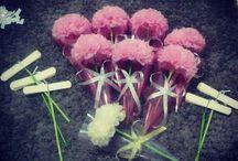 Flower pompom