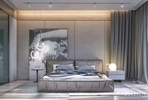Bedrooms contemporary