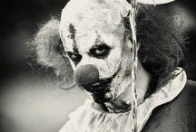 obsessed with clowns