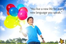 Quotes of the Week / by Language Stars, Language Learning and activities for preschool and beyond!