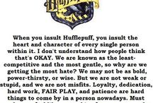 Hufflepuff for life