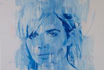 Demian Carey Gibbins - Portraits / Original portrait painting