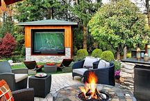 Stunning Backyard Renovation Ideas / Ideas for backyard renovations.