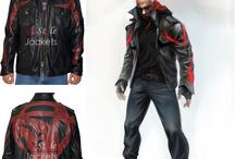 Video Games Leather Jacket