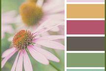 Декупаж. Полезное. Сочетания цветов. Decoupage. Useful. Color combinations. / Декупаж. Примеры гармоничного сочетания цветов. Decoupage. Examples of harmonious color combinations.