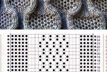 Knitting machine patterns and projects