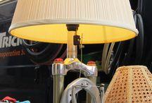 lampa z roweru