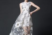 a some dresses