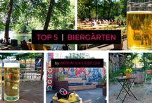 Wir lieben | Biergärten in Berlin / Ob mit selbstgebrautem Bier, direkt am See, modern oder klassisch. Wir stellen euch die schönsten Biergärten vor!