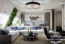 Интерьер современной квартиры в стиле минимализм в ЖК Садовые Кварталы / Интерьер квартиры в ЖК «Садовые Кварталы» выполнен в стиле минимализм. В оформлении особое внимание уделено декору, через который передаётся настроение. Сдержанная цветовая гамма в дизайне плавно перетекает из комнаты в комнату. Это наполнило квартиру комфортным теплом, при всей прессующей сдержанности данного направления.