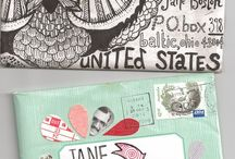 mail inspiration / by Tania Howells