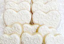 Wedding cookies/cakes
